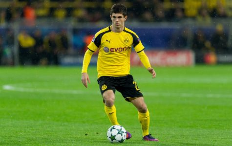 DORTMUND, GERMANY - NOVEMBER 22: Christian Pulisic of Borussia Dortmund in action during the UEFA Champions League First Qualifying Round 2nd Leg match between Borussia Dortmund and Legia Warschau at Signal Iduna Park on November 22, 2016 in Dortmund, Germany. (Photo by TF-Images/Getty Images)