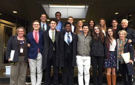 Mock Trial Team has Their Day in Court