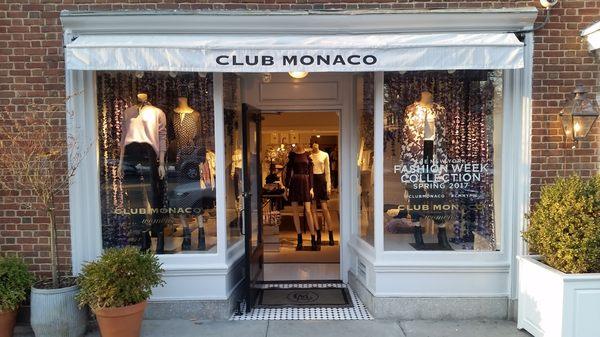 What's Hot in Princeton? Club Monaco