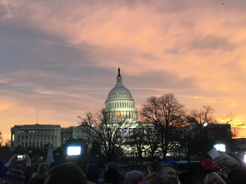 Student reflects on Inauguration Day