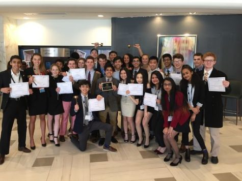 PDS Model UN team brings home the win