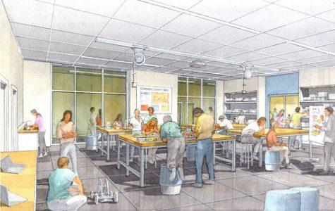 Creation of innovative STEAM lab in math hallway this summer