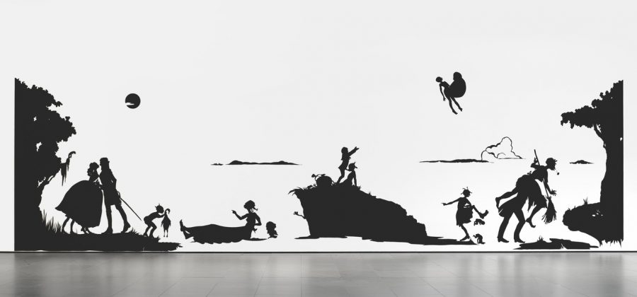 Kara+Walker%2C+%22Gone%3A+An+Historical+Romance+of+a+Civil+War+as+It+Occurred+b%27tween+the+Dusky+Thighs+of+One+Young+Negress+and+Her+Heart%22%2C+1994