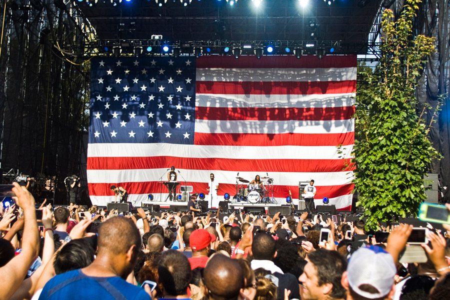 Made in America Music Festival (Credit: M. Edlow for Visit Philadelphia)