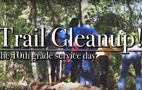 10th Grade Trail Cleanup
