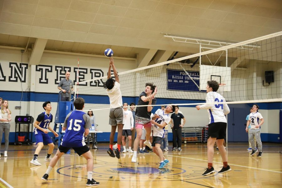 Junior vs. Senior BOlleYball Game Photo Gallery