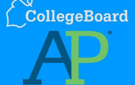 AP logo from College Board, the company that distributes both AP and SAT tests. (Photo/Abhi Brar/Ruffdraft)