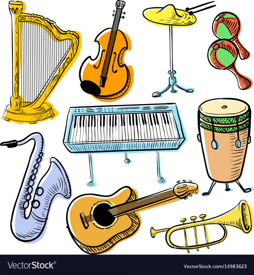 Assortment+of+Musical+Instruments+%28Photo%2F+VectorStock%29