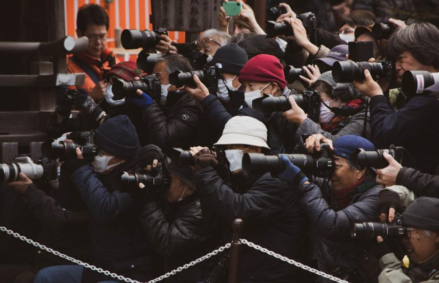 Photographers and paparazzi have a history of invading celebrities' space and privacy. (Photo/Zeg Young/Unsplash)