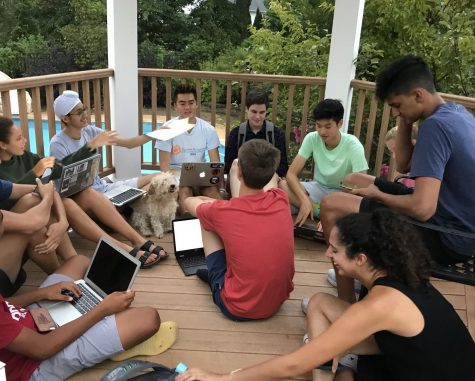 Though Student Council can no longer meet in person, it has been doing its best to coordinate events virtually. (Photo/George Ma)