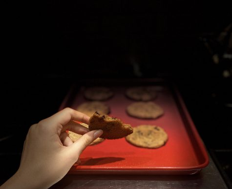 Freshly baked cookies, courtesy of the Spokesman! (Photo/Katie Jain