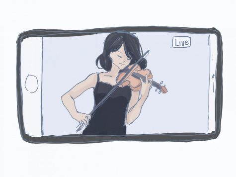 Watching concert performances is now easier than ever. (Image/Amy Zhou