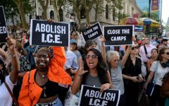 Many have protested ICE's treatment of undocumented immigrants. (Photo/AMNY)