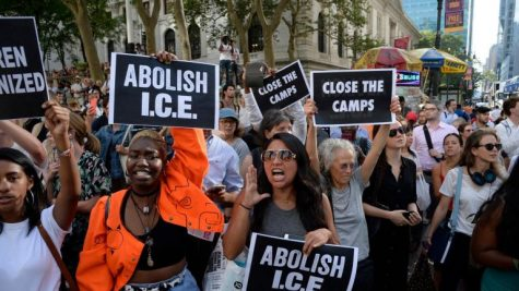 Many have protested ICE