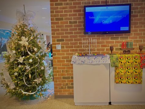 PDS celebrates the holiday season with representations from numerous cultures. (Photo/John Akbari